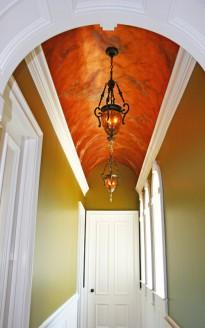 Unique Hallway Ceiling