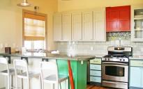 Uniquely Styled Kitchen