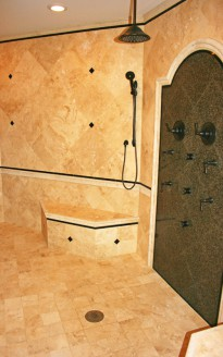 Master Bathroom & Custom Shower